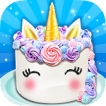 Unicorn Food - Sweet Rainbow Cake Desserts Bakery For PC / Windows / MAC