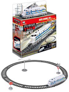 """Поезд серии """"Город Игр"""", железная дорога S, голубой"""