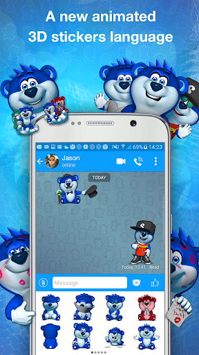 Snaappy Messenger - 3D Chat For PC
