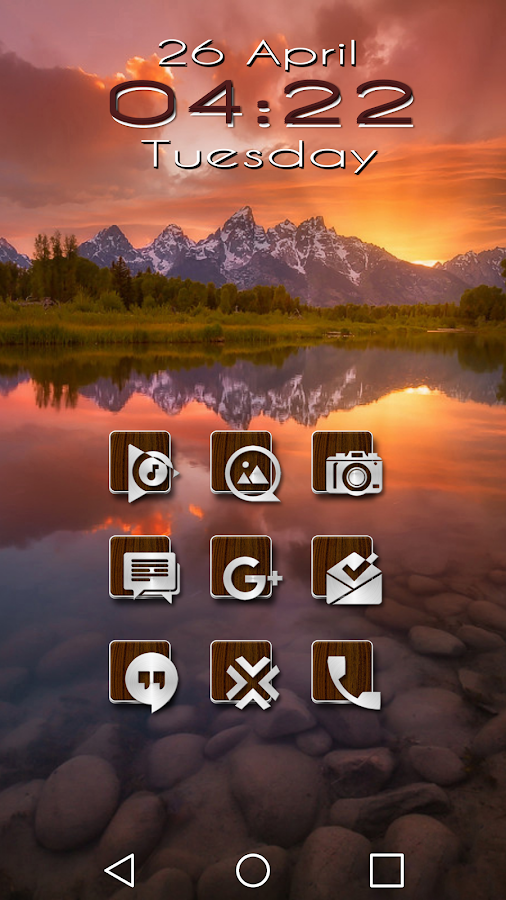 Slipped Wood - Icon Pack Screenshot 0