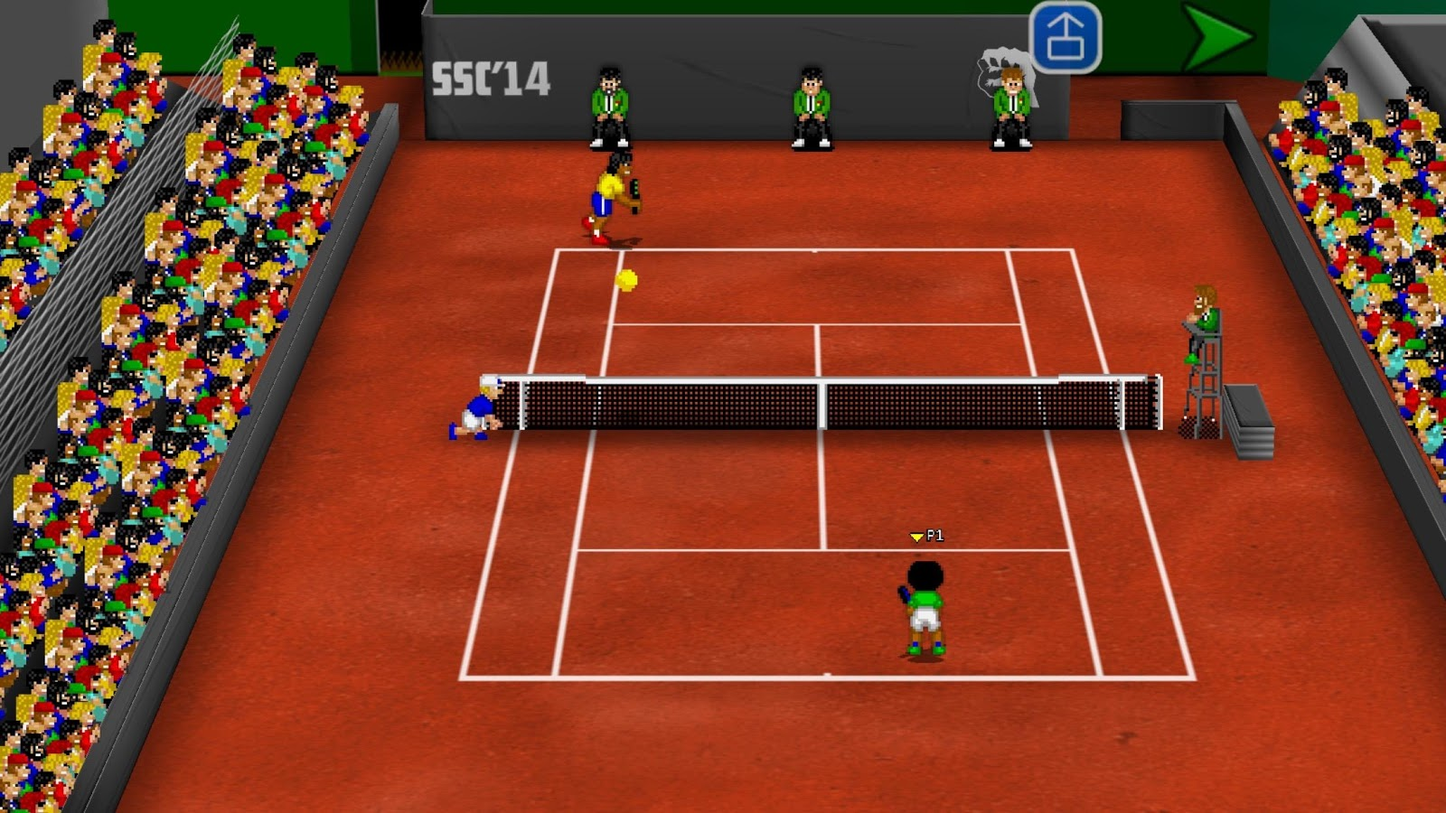 Tennis Champs Returns Screenshot 0