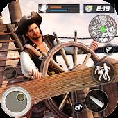 Caribbean Pirates Navy Shoot War