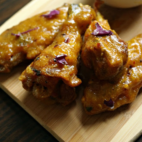 Sweet and Spicy Honey Mustard Party Wings