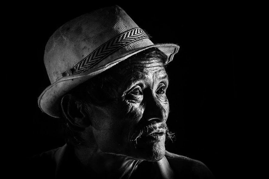Man from the land of rising sun by Arpan Majumder - Black & White Portraits & People ( black and white, street, people, portrait )