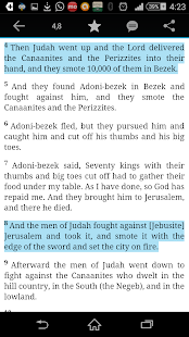 American King James Bible - screenshot