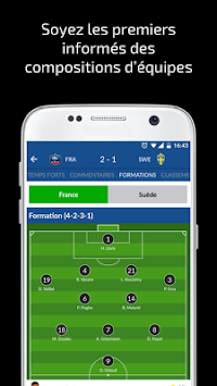 Résultats Foot En Direct APK screenshot thumbnail 3