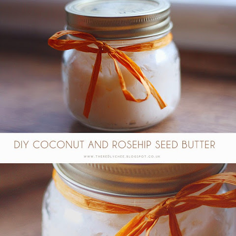 DIY Organic Coconut and Rosehip Seed Butter