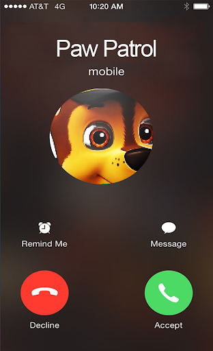 Paw chase Patrol call simulator For PC