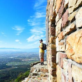 Hiking in Silvermine by Kirsty Wilkins - Novices Only Landscapes ( elephant's eye, silvermine )