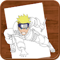 App How to Draw :Naruto APK for Kindle