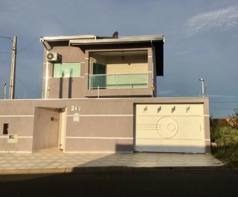 Casa com 3 dormitórios à venda, 227 m² por R$ 477.000,00 - Parque Terras de Santa Maria - Hortolândia/SP