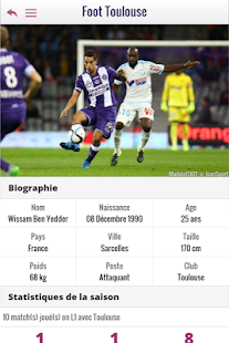 Foot Toulouse - screenshot