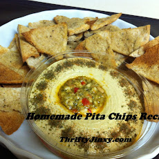 Make Your Own Homemade Pita Chips
