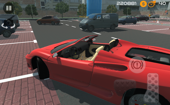 android Amazing Car - Parking Free Screenshot 7