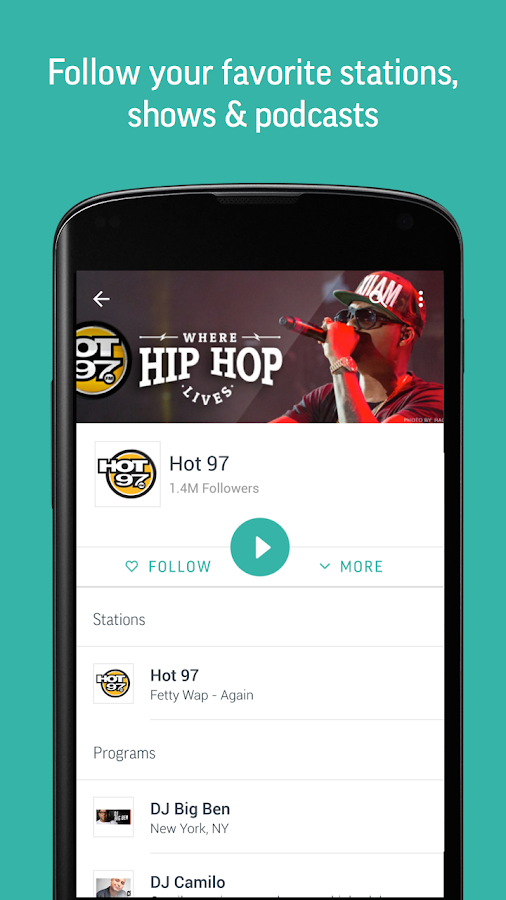 TuneIn Radio Pro - Live Radio Screenshot 4