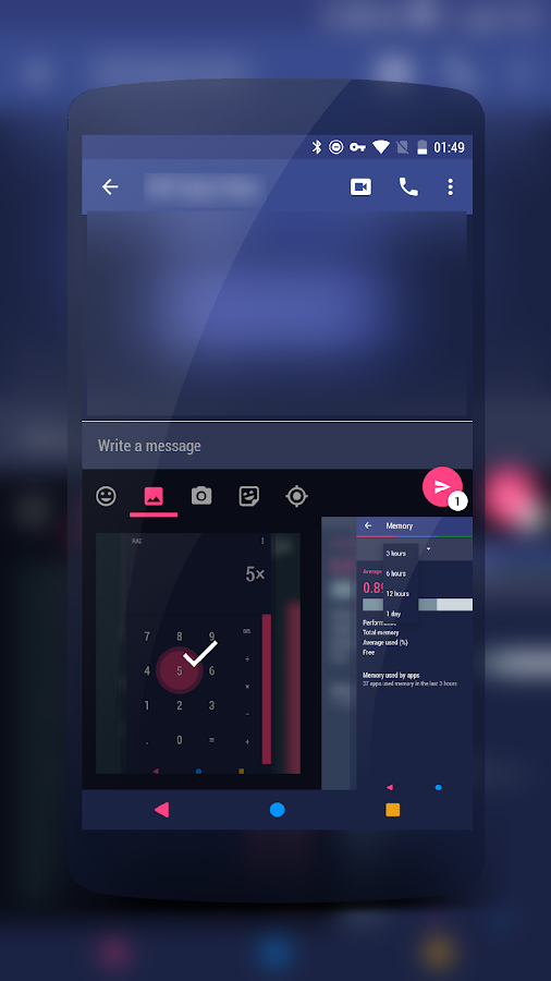 Neptune Material Theme CM13/12 Screenshot 18