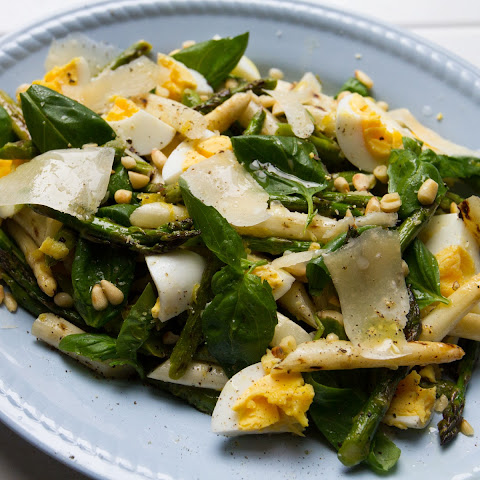 Charred Asparagus and Egg Salad