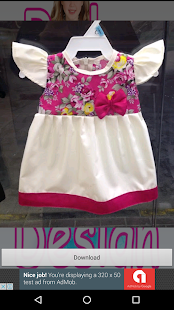 Baby Frock Design - screenshot
