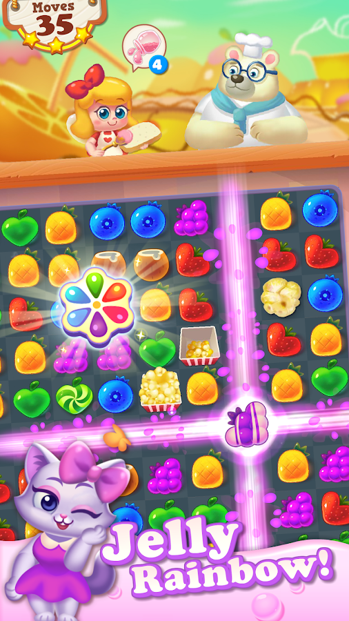 Tasty Treats - A Match 3 Puzzle Game Screenshot 10
