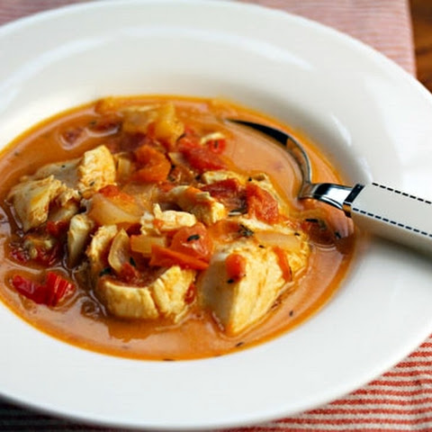 Jamaican Run Down (fish Stew With Tomato, Peppers And Coconut Milk)