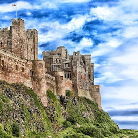 Bamburgh Castle by Karl Collins - Buildings & Architecture Public & Historical ( colour, history, old, northumberland, castle, architecture )