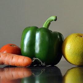 Assorted veggies 8 by Pradeep Kumar - Food & Drink Fruits & Vegetables