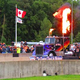 Kenworth Jet Truck  by Howard Sharper - Sports & Fitness Motorsports ( motorsport, racing, sports, truck, jet )