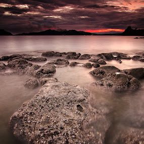 Croc of Hell by Geb Bunado - Landscapes Sunsets & Sunrises ( sisiman, mariveles, sunset, seascape, bataan )