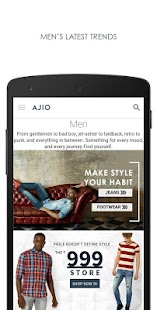 Download AJIO Online Shopping App APK to PC