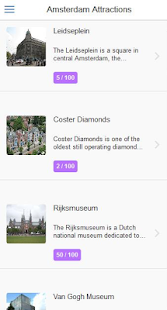 Amsterdam City Guide - screenshot