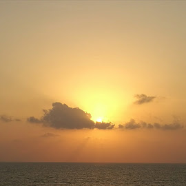 Sunset above Red Sea by Zeljko Kliska - Instagram & Mobile Android ( nature, colors, sunset, sea, landscape )