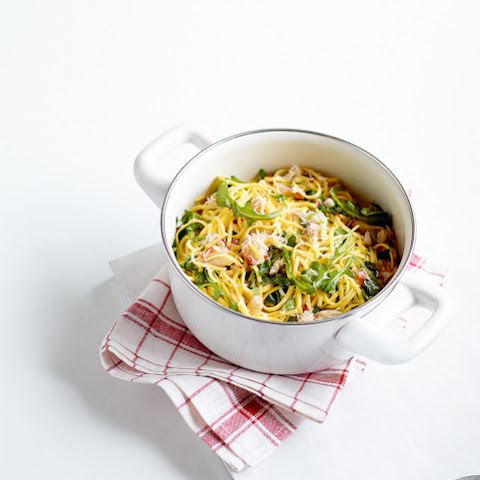 Spicy Crab, Chilli And Lemon Pasta