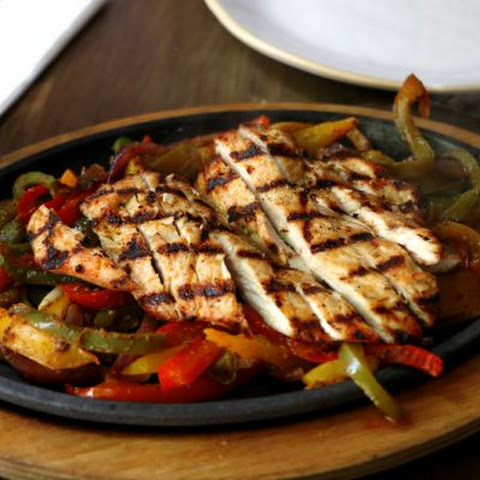 Copycat Chili's Margarita Grilled Chicken Skillet