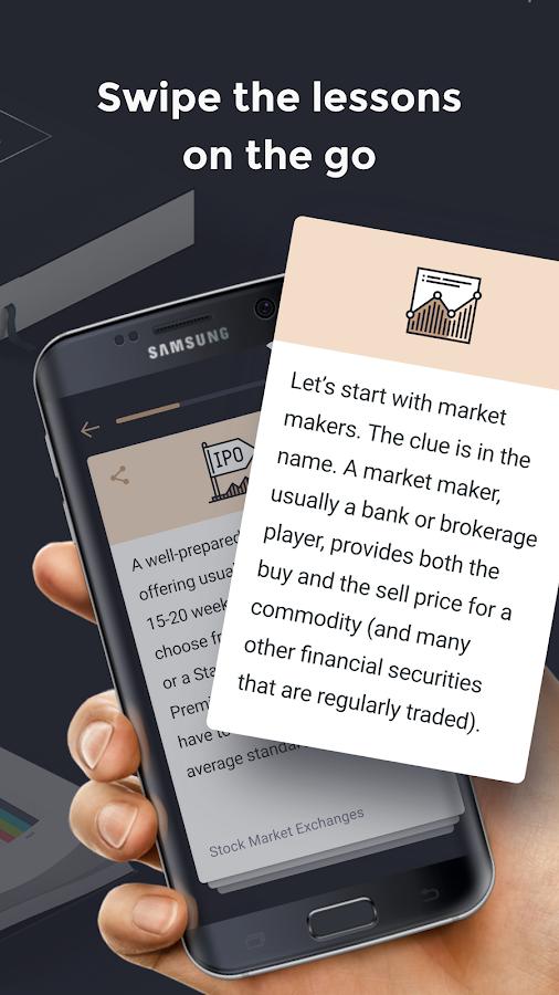 Investmate - Lernen Sie, Aktien und Derivate zu handeln android apps download