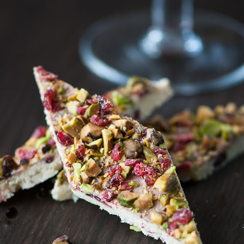 Pistachio Cranberry Peppermint Bars