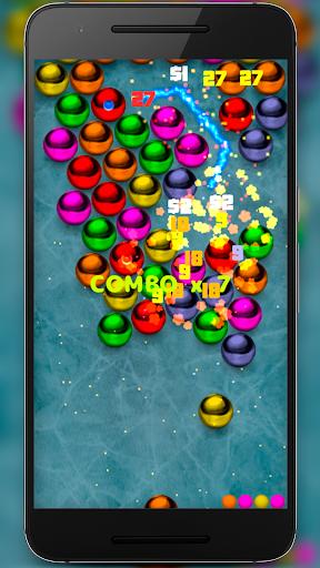 Magnetic balls bubble shoot screenshot 17