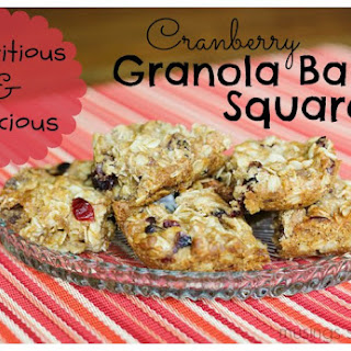 Delicious & Nutritious Chewy Granola Bar Squares