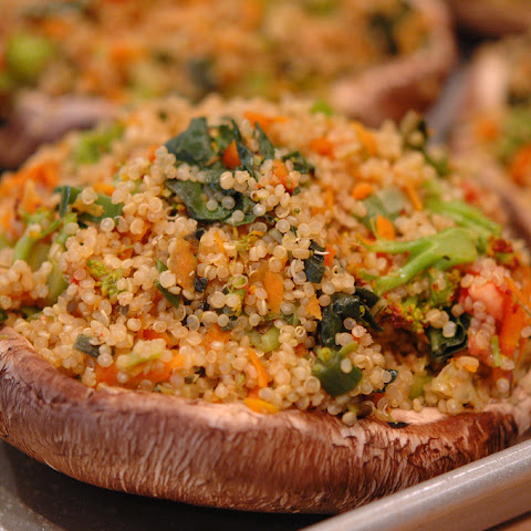 Stuffed Portobello Mushrooms Leek Recipes | Yummly