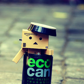 Playing Danbo by Joseph Basukarno - Artistic Objects Toys