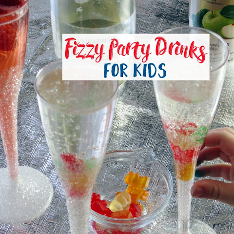 Fizzy Party Drinks for Kids