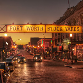 Ft. Worth Stockyards by Keith Barrett - Buildings & Architecture Other Exteriors (  )