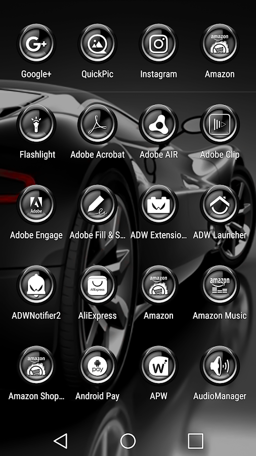 C9 Gray - Icon Pack Screenshot 1