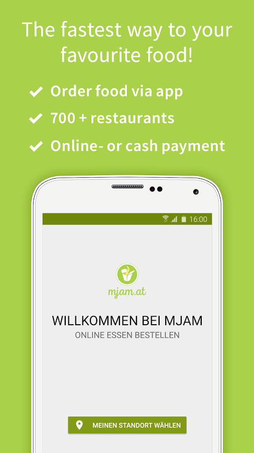 Mjam.at - Order food online Screenshot