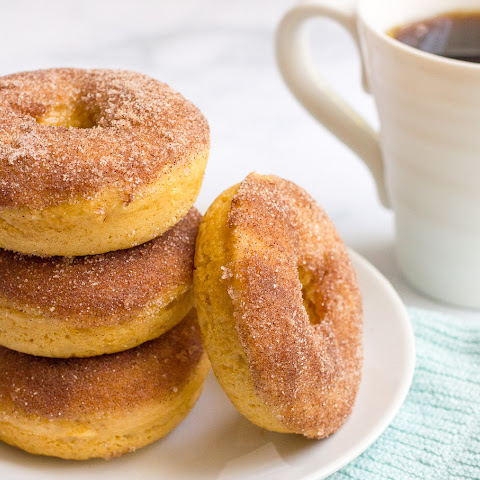 Whole Wheat Cinnamon Sugar Baked Donuts