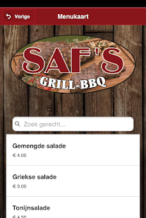 Saf's Grill & BBQ - screenshot