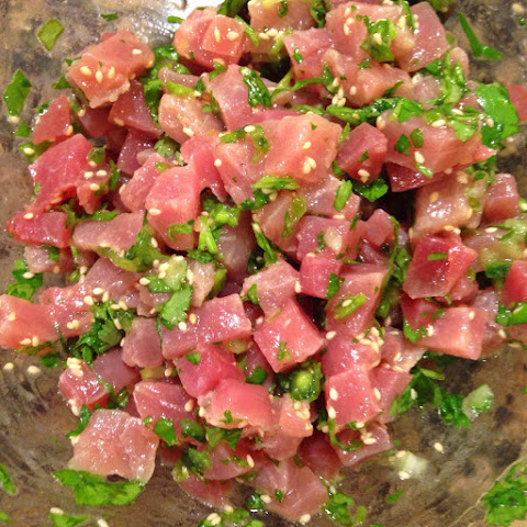 Asian Marinated Tuna Tartare