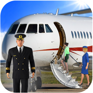 Airplane Real Flight Simulator 2020 : Plane Games Online PC (Windows / MAC)
