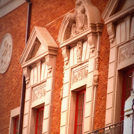 Old building by Brenda Shoemake - Buildings & Architecture Architectural Detail