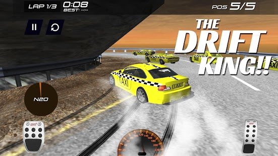 The ultimate crazy taxi - screenshot