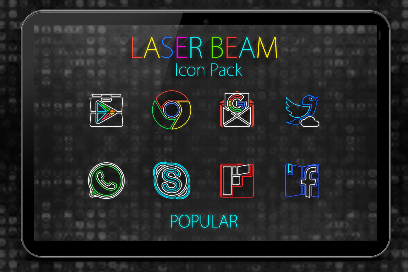 Laser Beam Icon Pack Screenshot 7